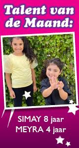Simay 8 jaar & Meyra 4 jaar